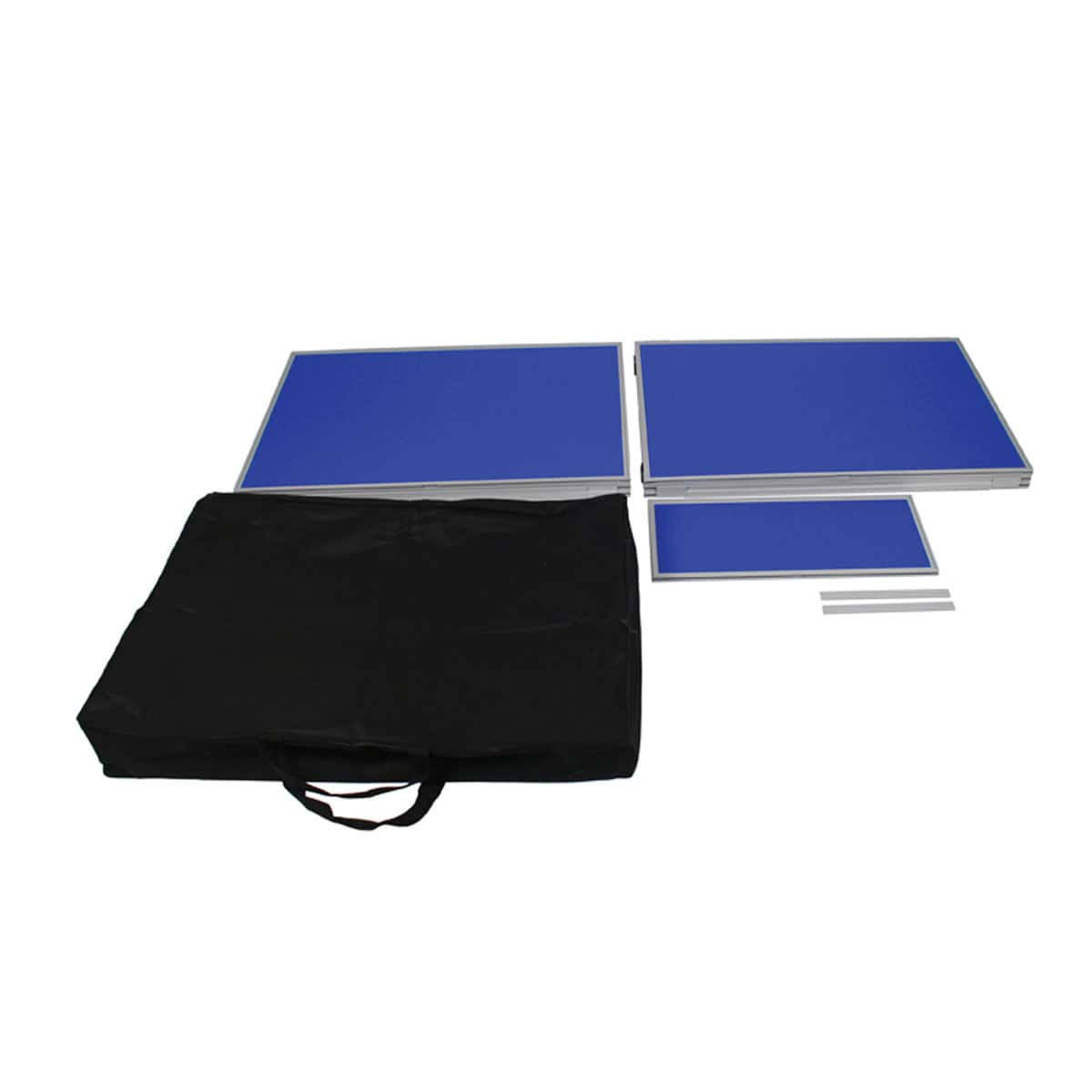 Blue panel kit with black carry bag