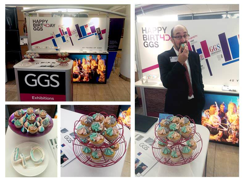 GGS 40th at the B2B exhibition