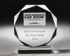 Best performance Car stand awarded to Zenos in 2016
