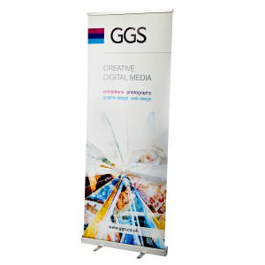 800mm wide roll up banner stand