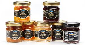 Norfolk preserves product photography example