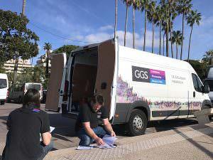 GGS exhibition team on tour