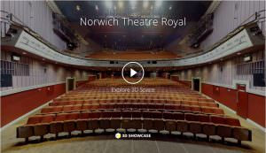 Norwich Theatre Royal virtual 360 tour