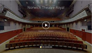 Norwich Theatre Royal - virtual tour