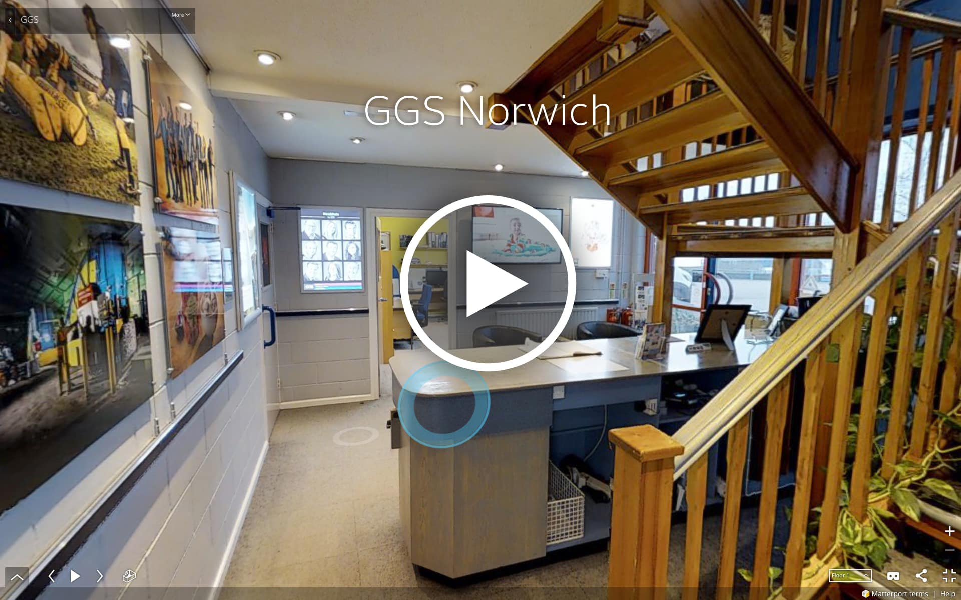3D Virtual tour of GGS offices in Norwich, Norfolk