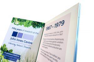 John innes centre stand design norwich