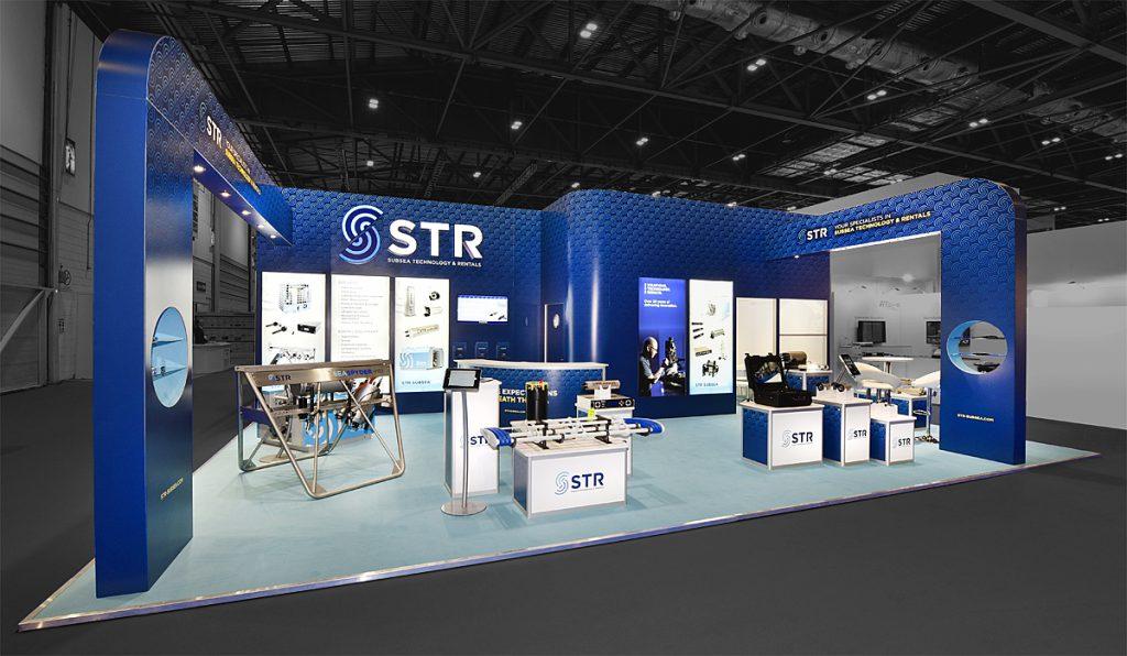 STR Exhibition stand design in Norwich