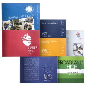 School Prospectus design and print
