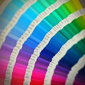 Pantone Colour booklet