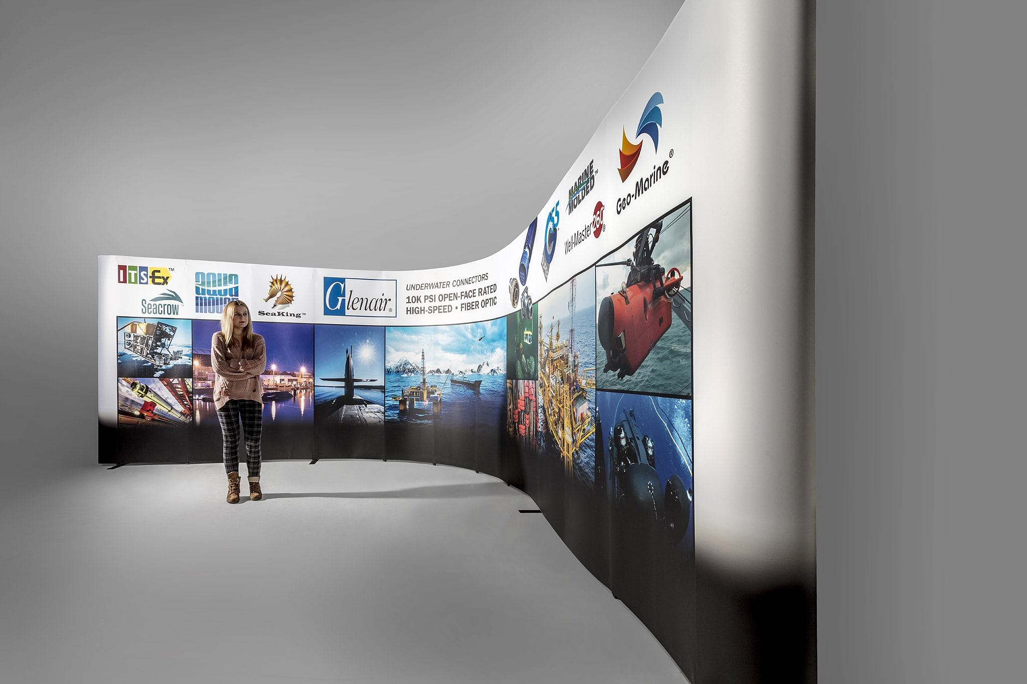 Exhibition Stand Themes : Glenair stand 003 co ggs norwich