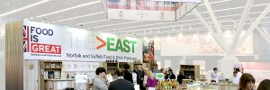 The East - exhibition stand design by GGS