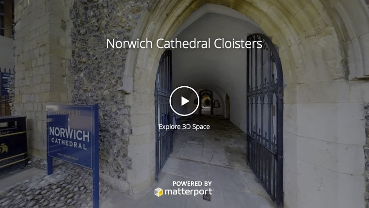 Norwich Catheral Cloisters Virtual Tours