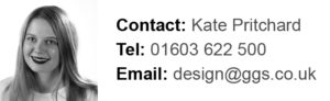 Kate specialises in Graphic Design Norwich