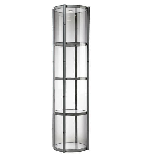Spiral show tower