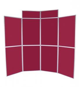 Folding panel kit
